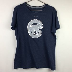 NWOT Nike Chicago Cubs Graphic T-shirt